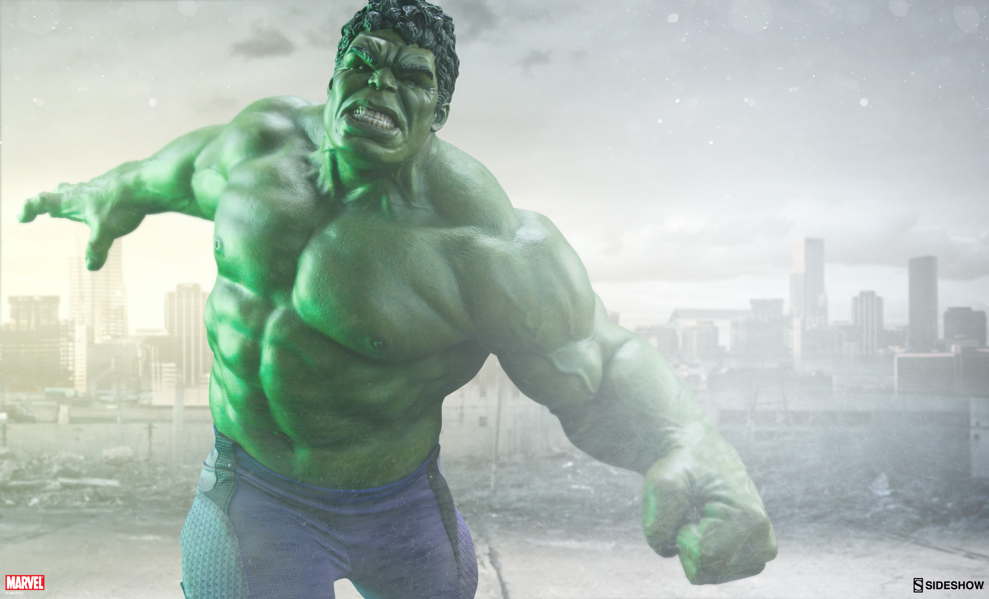Hulk Avengers: Age of Ultron Maquette