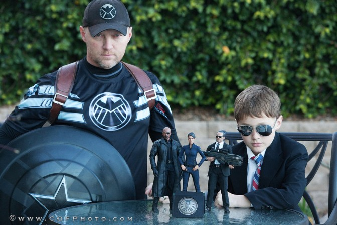 Captain America and Kid Coulson (aka the Richter Boys) review the Hot Toys Maria Hill Figure