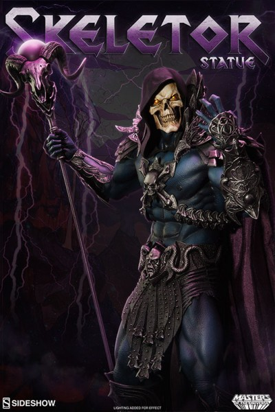 Sideshow presents Skeletor from Masters of the Universe – What a wonderful day for evil!