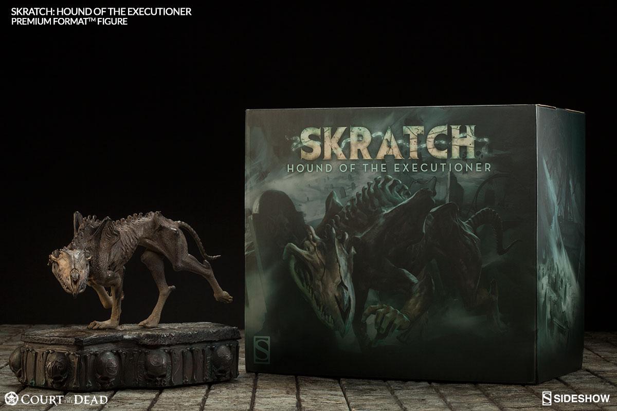Court of the Dead Skratch Premium Format Figure Final Production Gallery Photos
