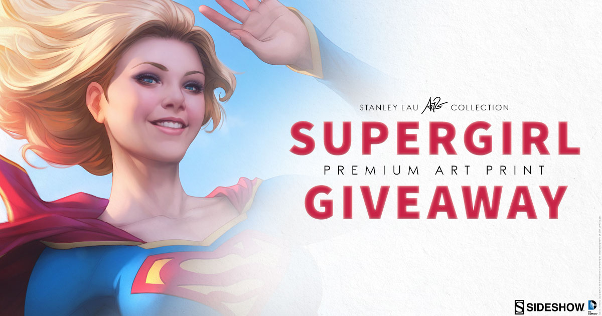 Supergirl Art Print Giveaway