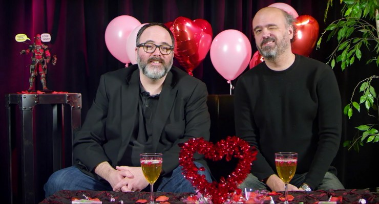 Rapid Fire Questions with Deadpool writer Gerry Duggan and Scott Adsit