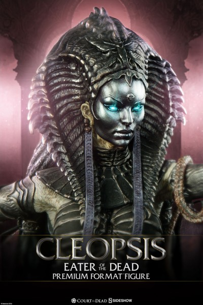Sideshow introduces the Cleopsis Premium Format Figure from Court of the Dead