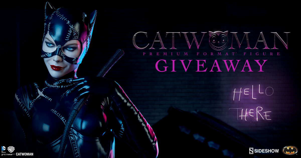 Catwoman Giveaway