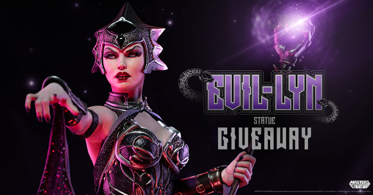 Evil-Lyn Statue Giveaway