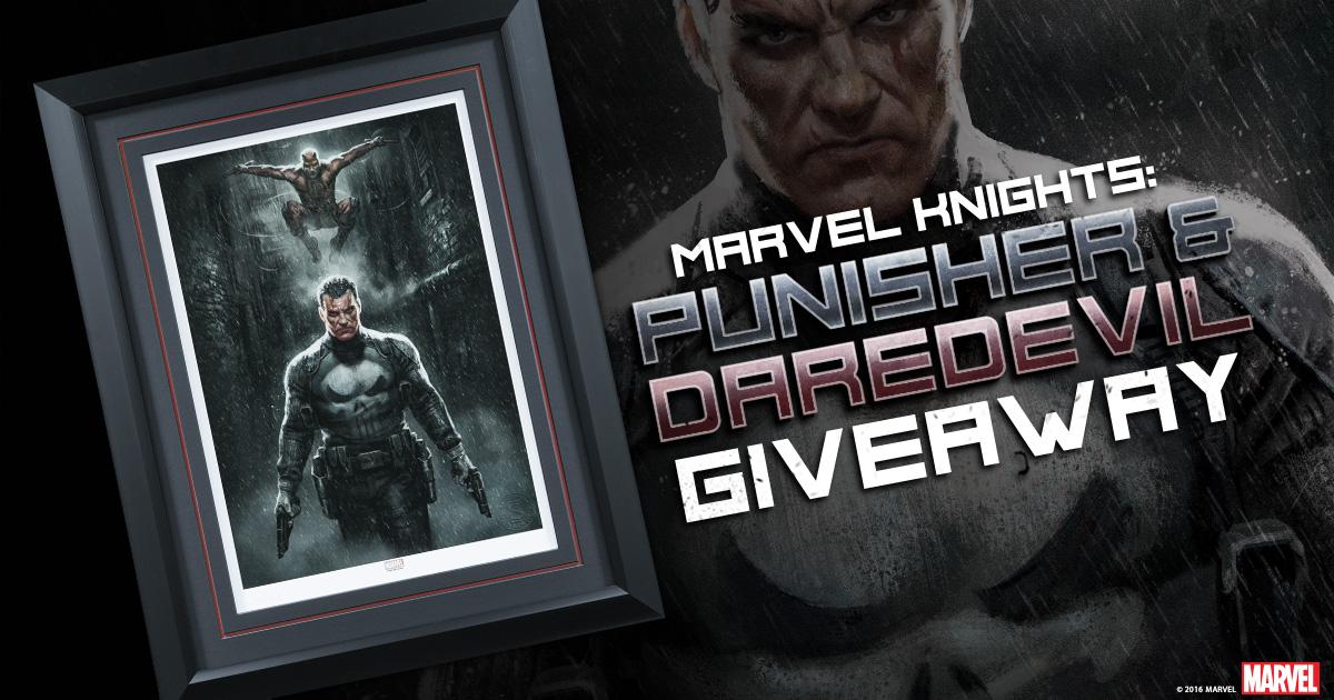 Marvel Knights: Punisher & Daredevil Print Giveaway