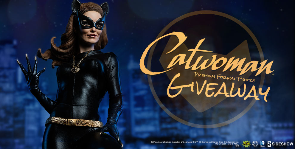 Catwoman Statue 1960s TV Show Giveaway
