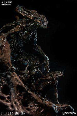 Alien King Maquette