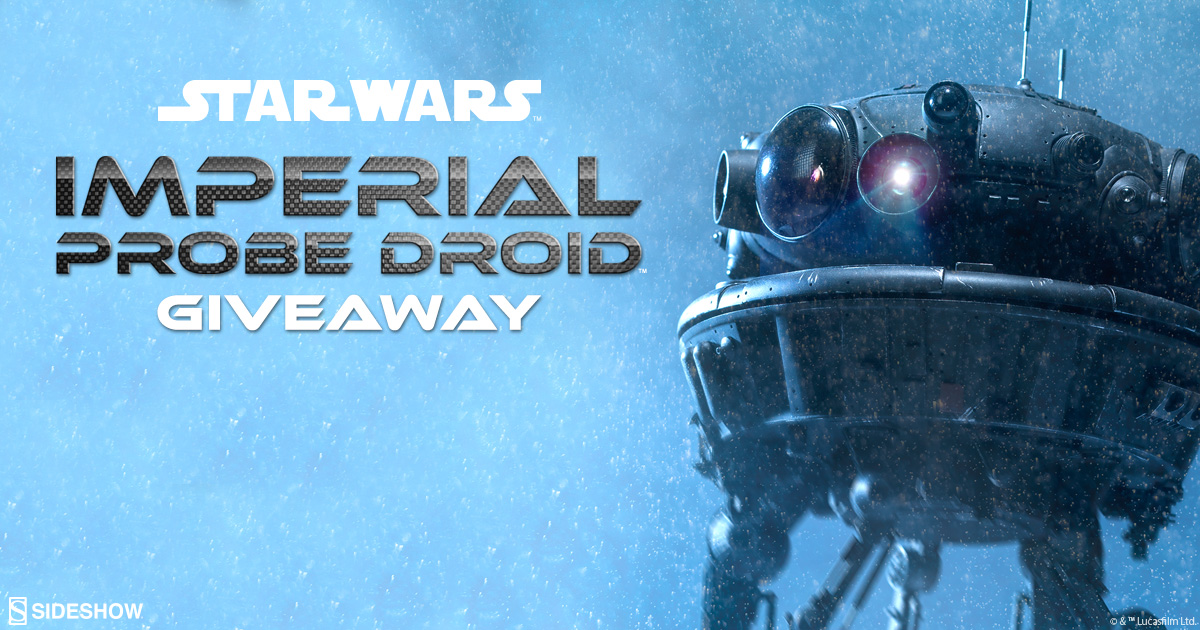 Imperial Probe Droid Giveaway