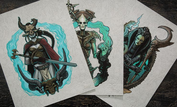 Court of the Dead Miss Monster Prints Available Now!