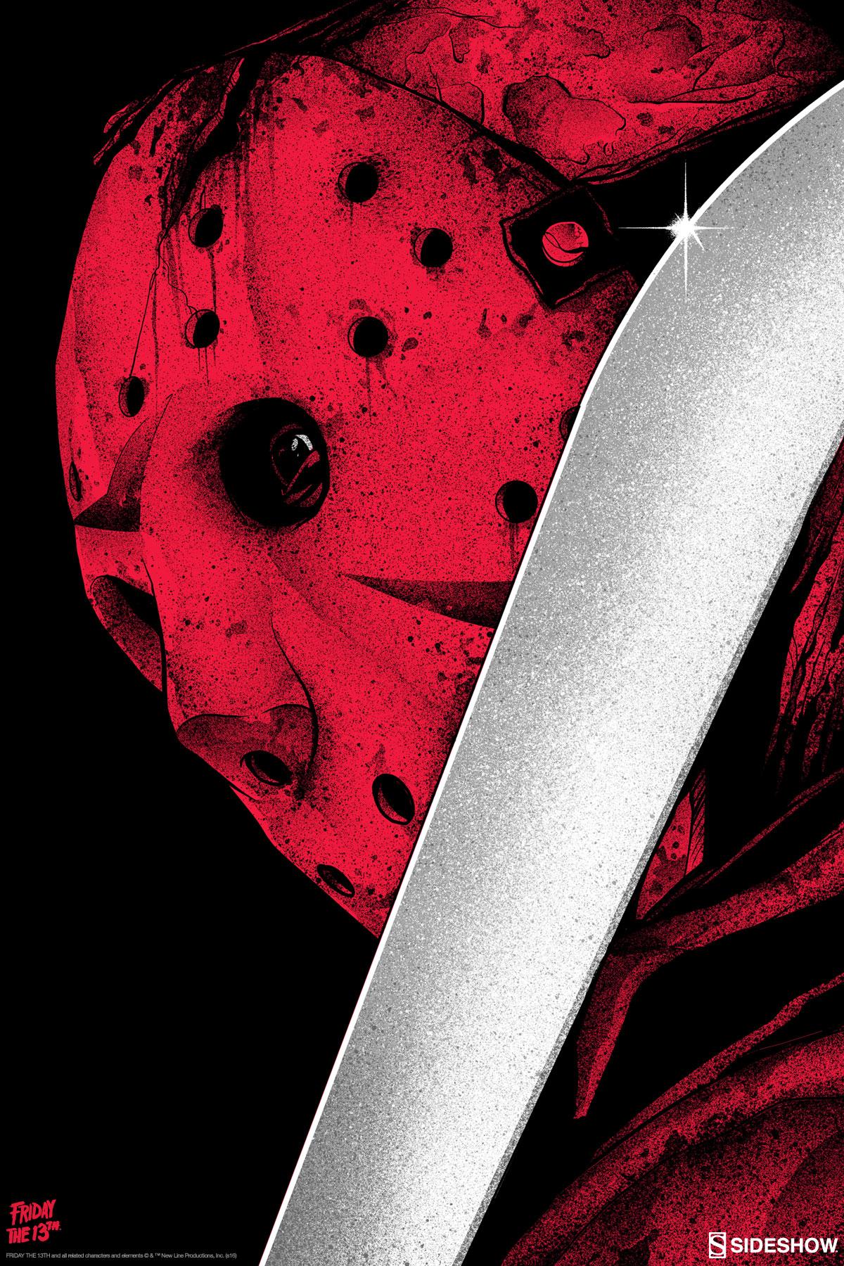 Jason Voorhees Screen-Print by Matt Ryan Tobin