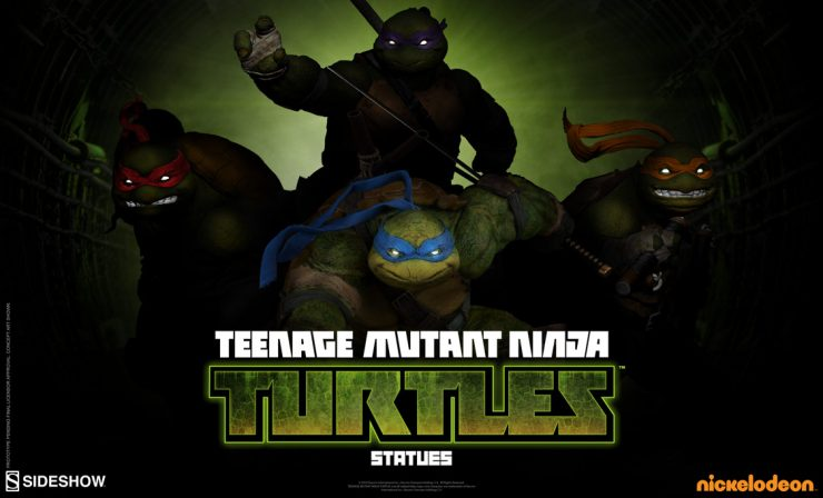 Introducing Sideshow's new Teenage Mutant Ninja Turtles collection – Turtle power!