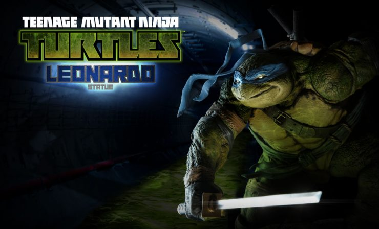 Cowabunga! – Leonardo, our first Hero in a half-shell!