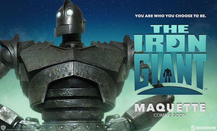 Iron Giant Maquette Announcement