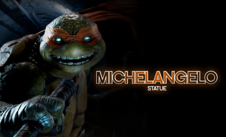 """Turtle Power!"" -Michelangelo. Introducing our next Hero in a half-shell!"