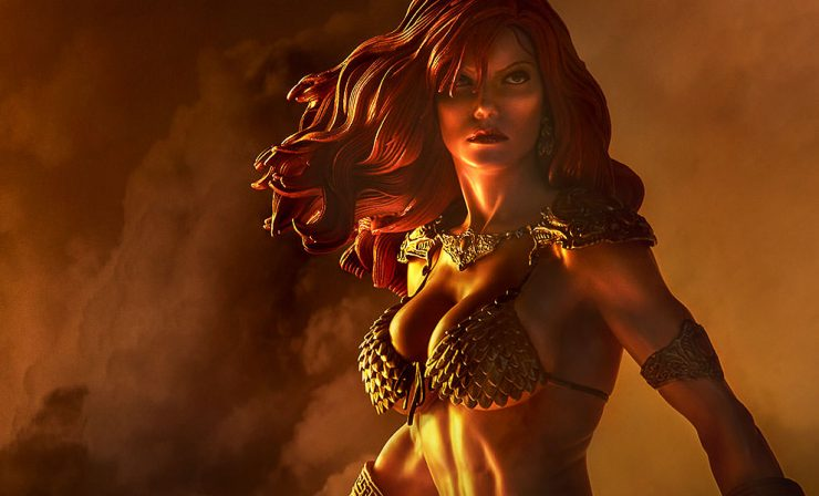 New Photos – Red Sonja: She-Devil with a Sword Premium Format Figure