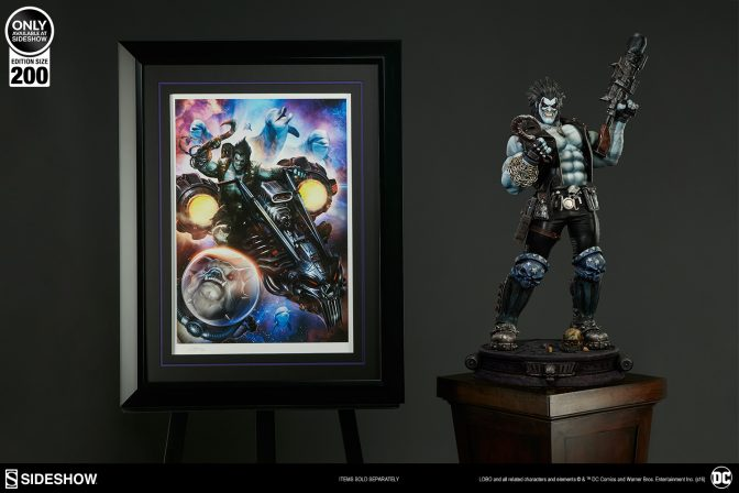 Lobo: The Last Czarnian Premium Art Print by Dave Wilkins