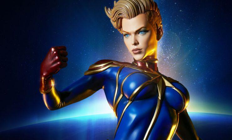New Photos – Captain Marvel Premium Format Figure