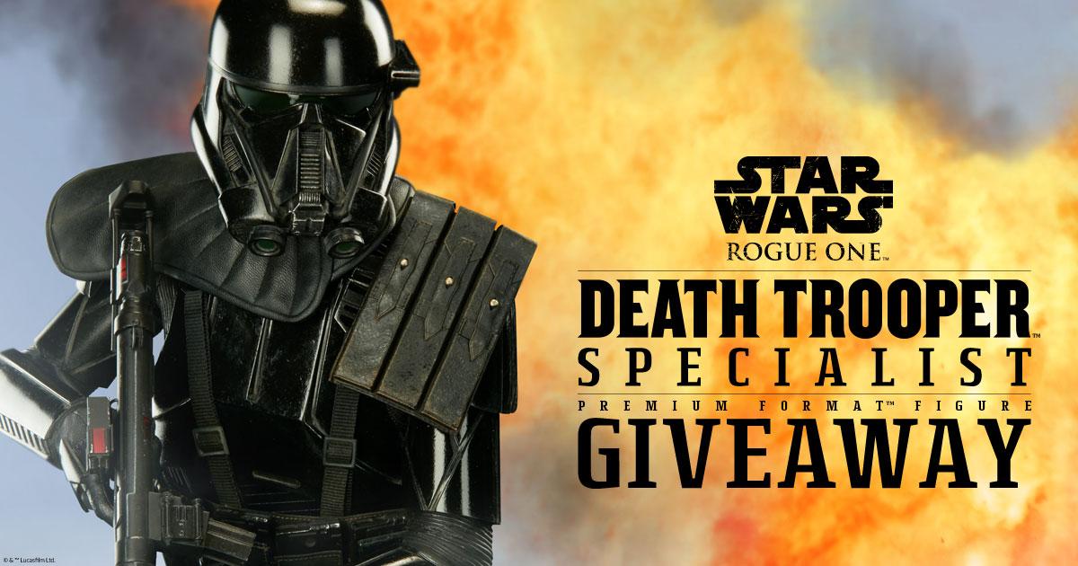 Death Trooper Premium Format Figure Giveaway
