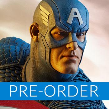 Captain America - Avengers Assemble Statue