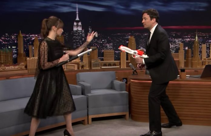 A new Rogue One clip on The Tonight Show.