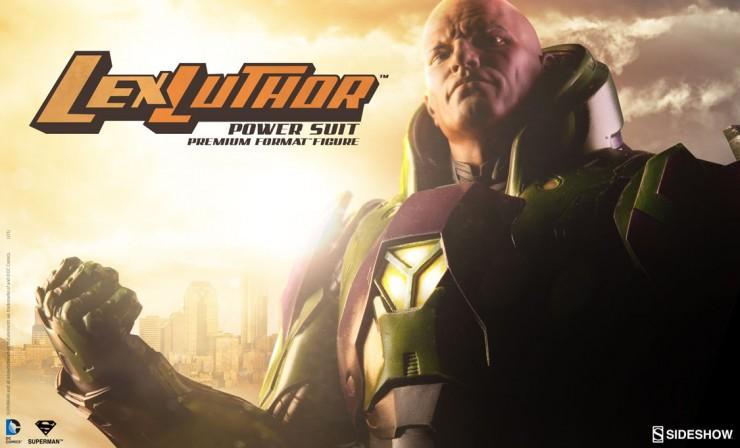 Lex Luthor in Power Suit Premium Format Figure