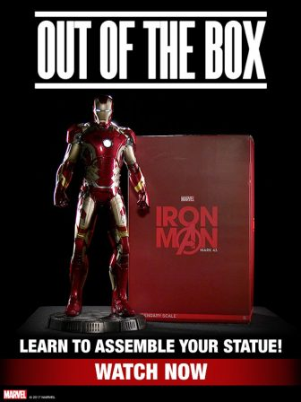 Iron Man Mark 43 Legendary Scale Figure Out of the Box