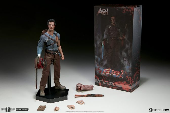 New Production Photos – Ash Williams Sixth Scale Figure