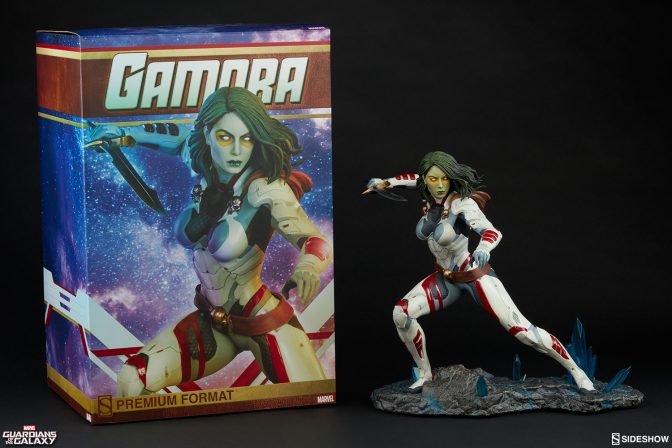 New Production Photos – Gamora Premium Format Figure
