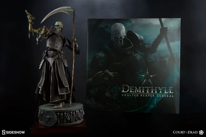 New Production Photos – Exalted Reaper General Demithyle Legendary Scale Figure