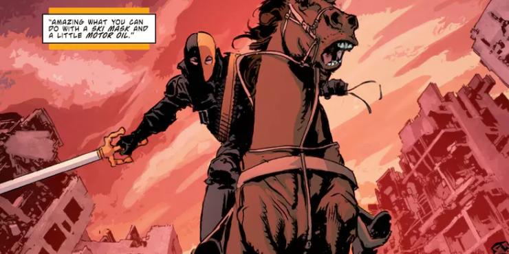 The Secret of Deathstroke's Name & Mask Revealed
