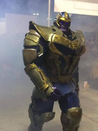 A Cosplay that captures the epic scale of Thanos