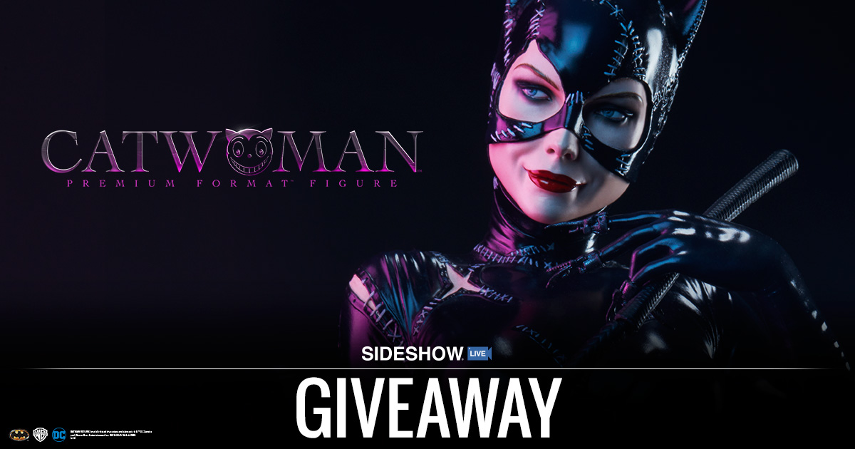 Sideshow Live Catwoman Giveaway
