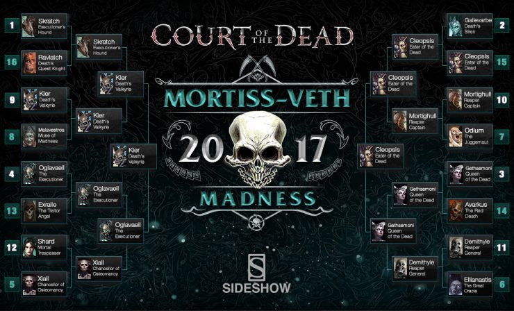 Court of the Dead Mortiss-veth Madness