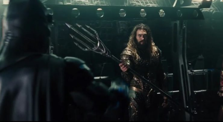 Unite the League – Teaser Footage of Aquaman, Batman, Flash, & Wonder Woman