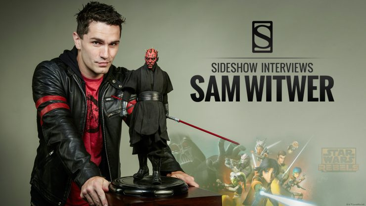 Sideshow interviews Sam Witwer!