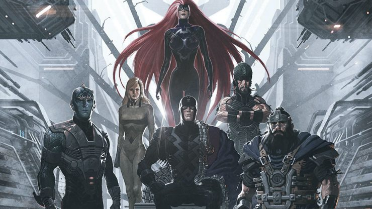 The full cast for Marvel's Inhumans series has been announced!