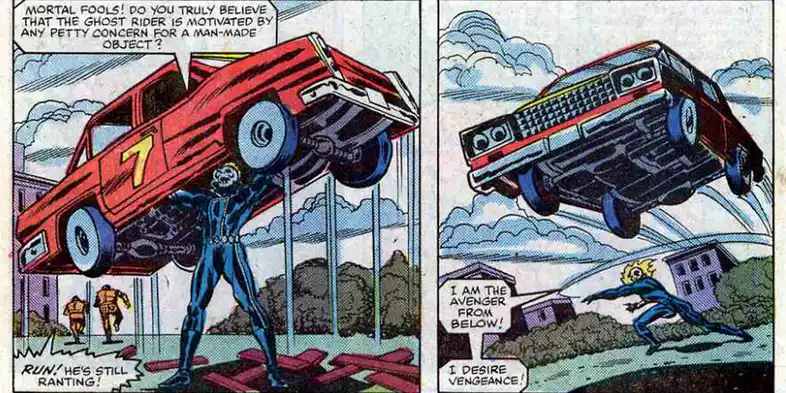 15 Superpowers You Didn't Know Ghost Rider Had | Sideshow