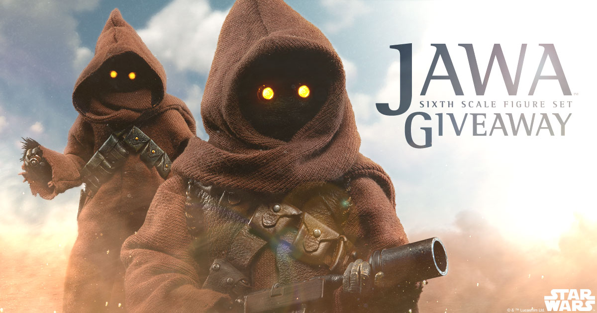 May 2017 Star Wars Jawa Sixth Scale Figure Set Giveaway