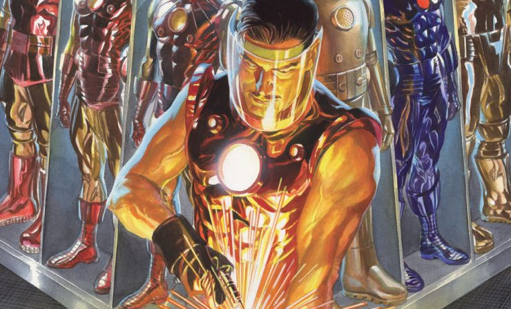 Iron Man: The Golden Avenger Lithograph Print