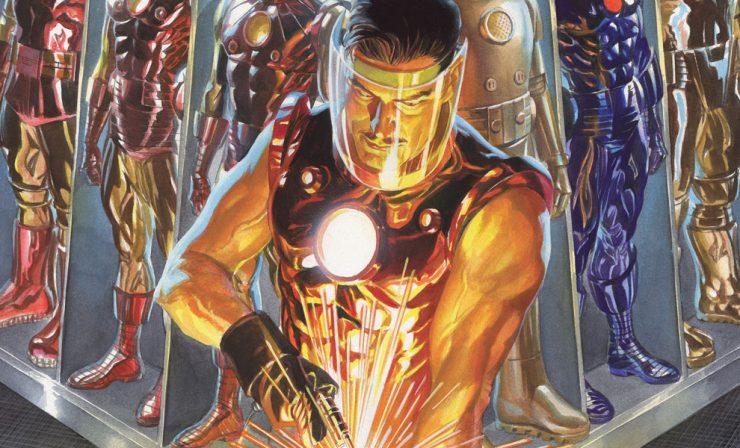Iron Man: The Golden Avenger Lithograph Print
