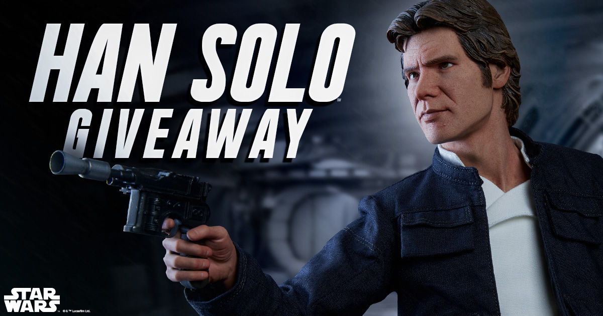 Han Solo Premium Format™ Figure Giveaway