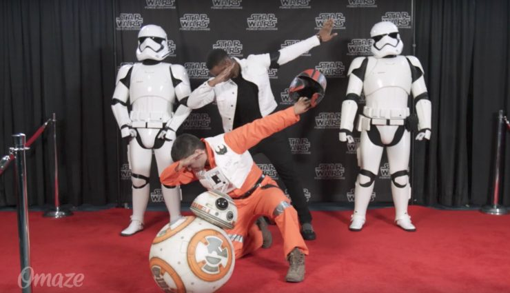 John Boyega Pranks Celebration