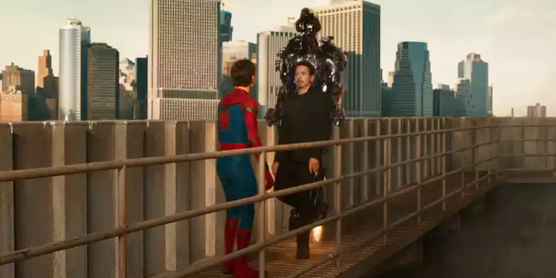 Spider-Man & Tony Stark