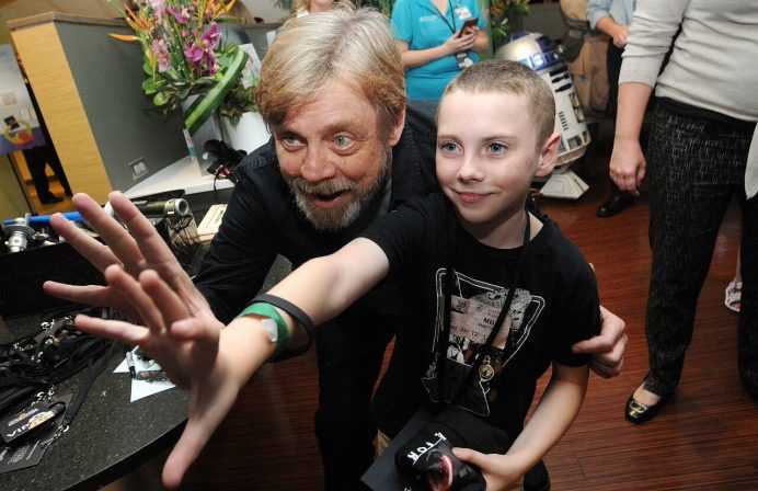 Mark Hamill at Starlight Event