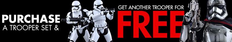 Buy a trooper set, get a Phasma!