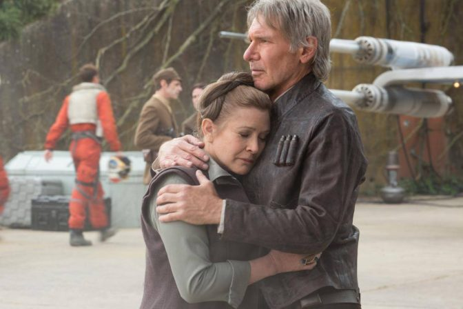 Harrison and Carrie Side by Side