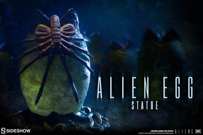 Alien Egg Statue