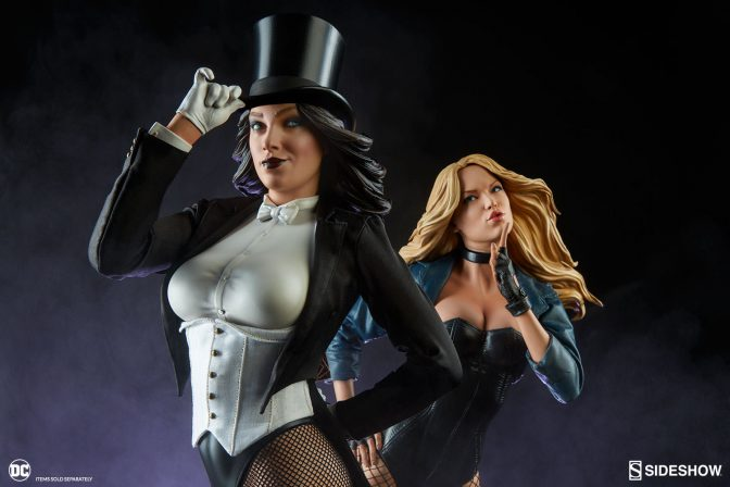 And For Our Next Act… The Zatanna Premium Format Figure™!
