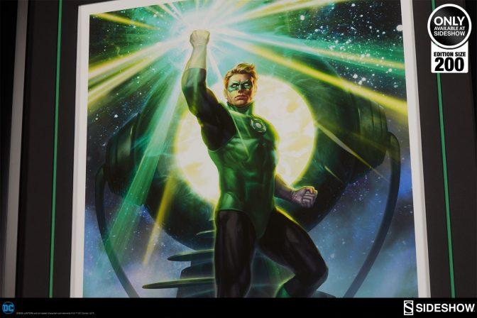 Green Lantern Premium Art Print